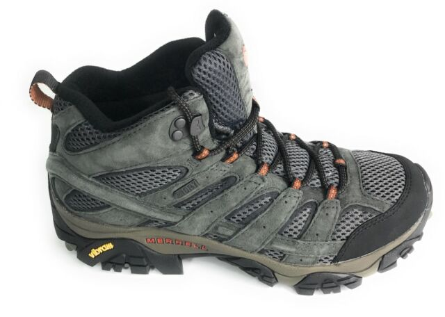 2110e329bf8a4 Merrell J06053 Moab 2 Mid Waterproof Hiking BOOTS Mens Beluga 11 for ...