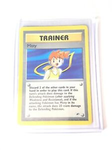 MISTY-Gym-Heroes-102-132-Rare-Trainer-Pokemon-Card-EXC-NM