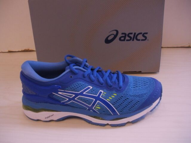 discount coupon on feet shots of full range of specifications ASICS T799n 4840 GEL Kayano 24 Blue Purple Womens Running Shoes Size 7.5 US