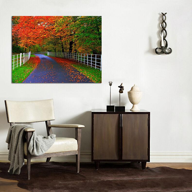 3D Herbst Wald 62 Fototapeten Wandbild BildTapete Familie AJSTORE DE