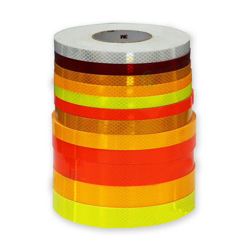 1M High Intensity  Reflective Tape Strip Weatherproof Strong for Car Van Bicycle  shop online