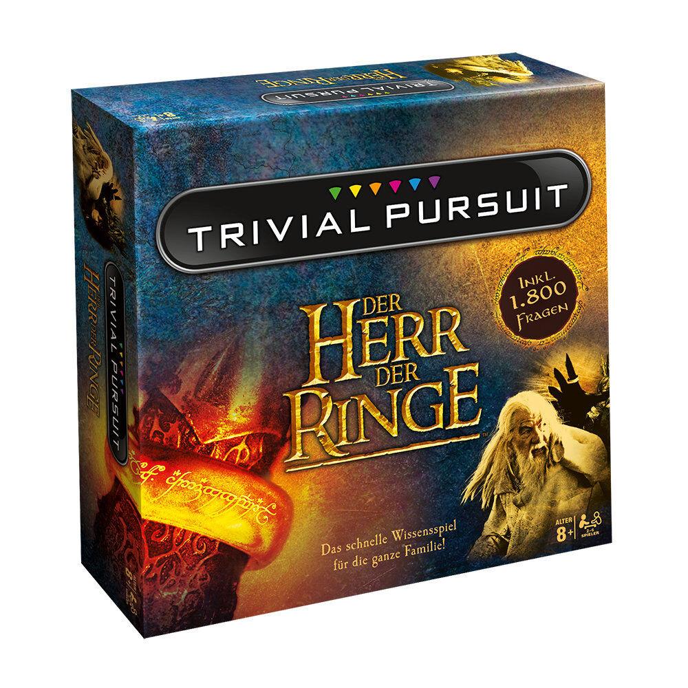Trivial Pursuit HdR Herr der Ringe Collector's Edition Ratespiel Quiz Deutsch