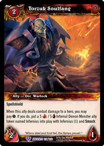 STRIFE X 3 WOW WARCRAFT TCG WAR OF THE ANCIENTS