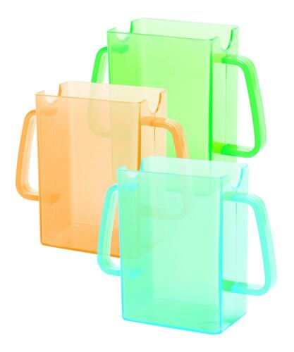 79235 Mommy/'s Helper Juice Box Bag Pouch Holder Buddies Orange Green Blue