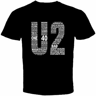 U2 Irish Rock Band Women Printed T-Shirt