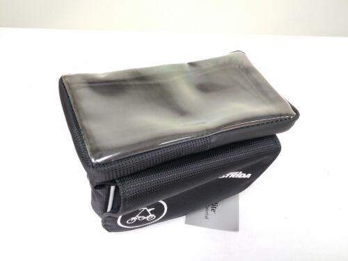 """Strida Frame Pannier Bag Black for 6/"""" mobile phone"""