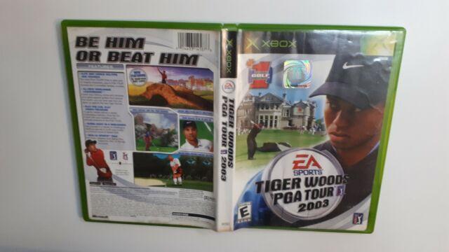 Tiger Woods PGA Tour 2003 - Original Xbox Game - Tested