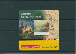 Germany-BRD-Federal-Stamp-Booklet-MH-63-Postmarked-Used-More-See-Shop