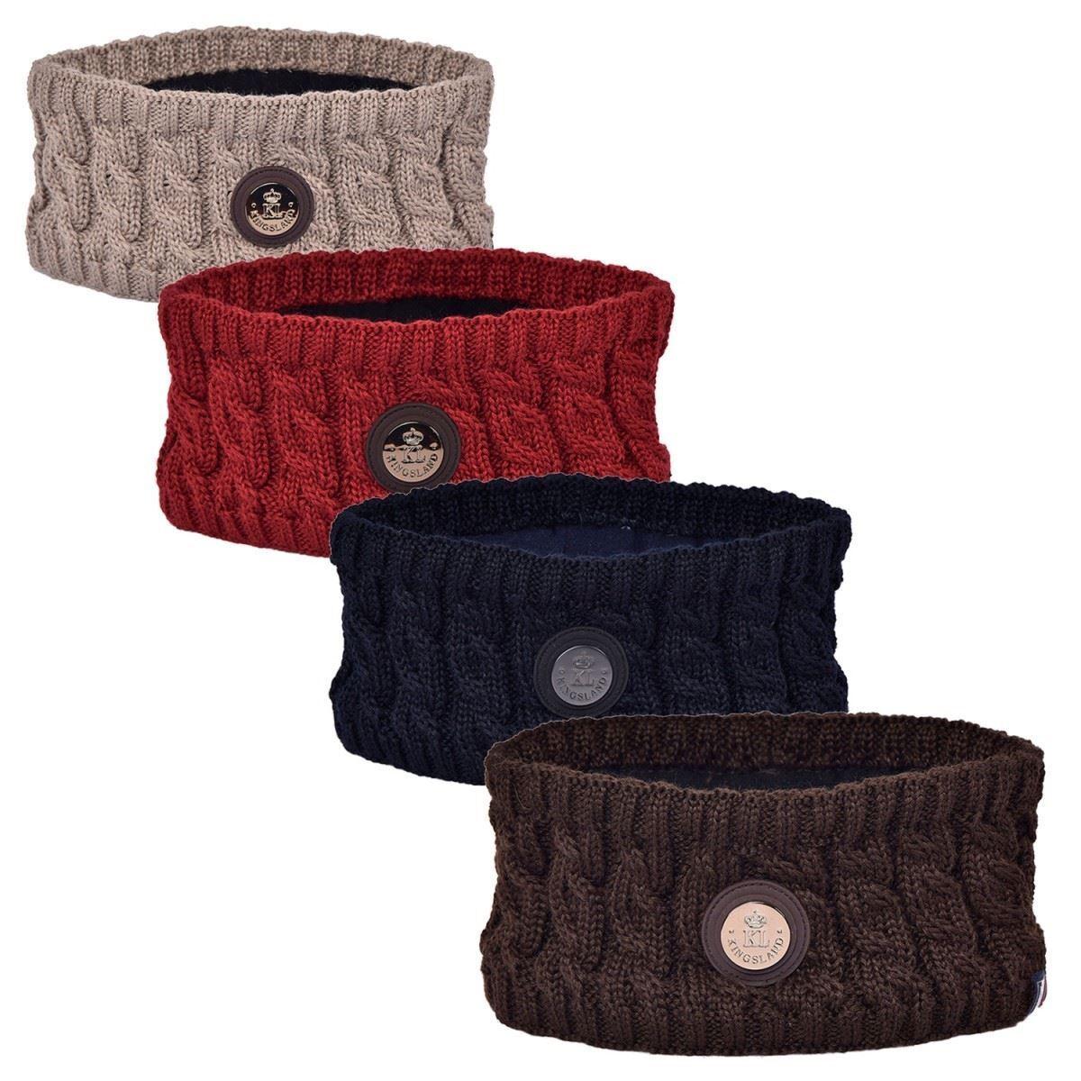 Kingsland Karluk Headband - Knitted Horse Riding Riding Riding Equestrian Winter Warm Outdoor 850dca
