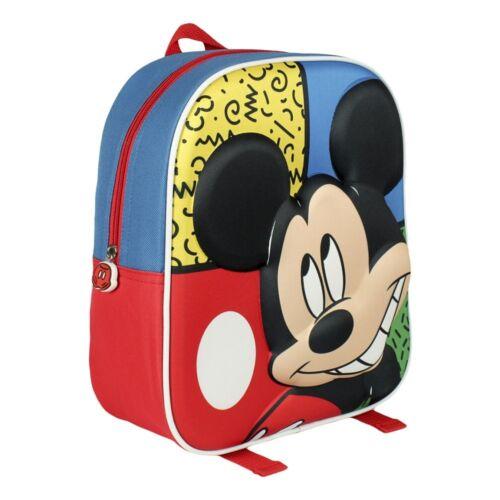 Rucksack Vorschule KiTa Freizeit Reisen Kinder Tasche in 3D  Mickey Mouse