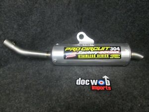 Details about Honda CR125 2002-2007 New Pro Circuit 304 Factory rear  exhaust silencer CR3984