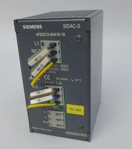 M663 Power Supply Siemens Sidac-S 4FD5213-0AA10-1A AS-I 30V DC
