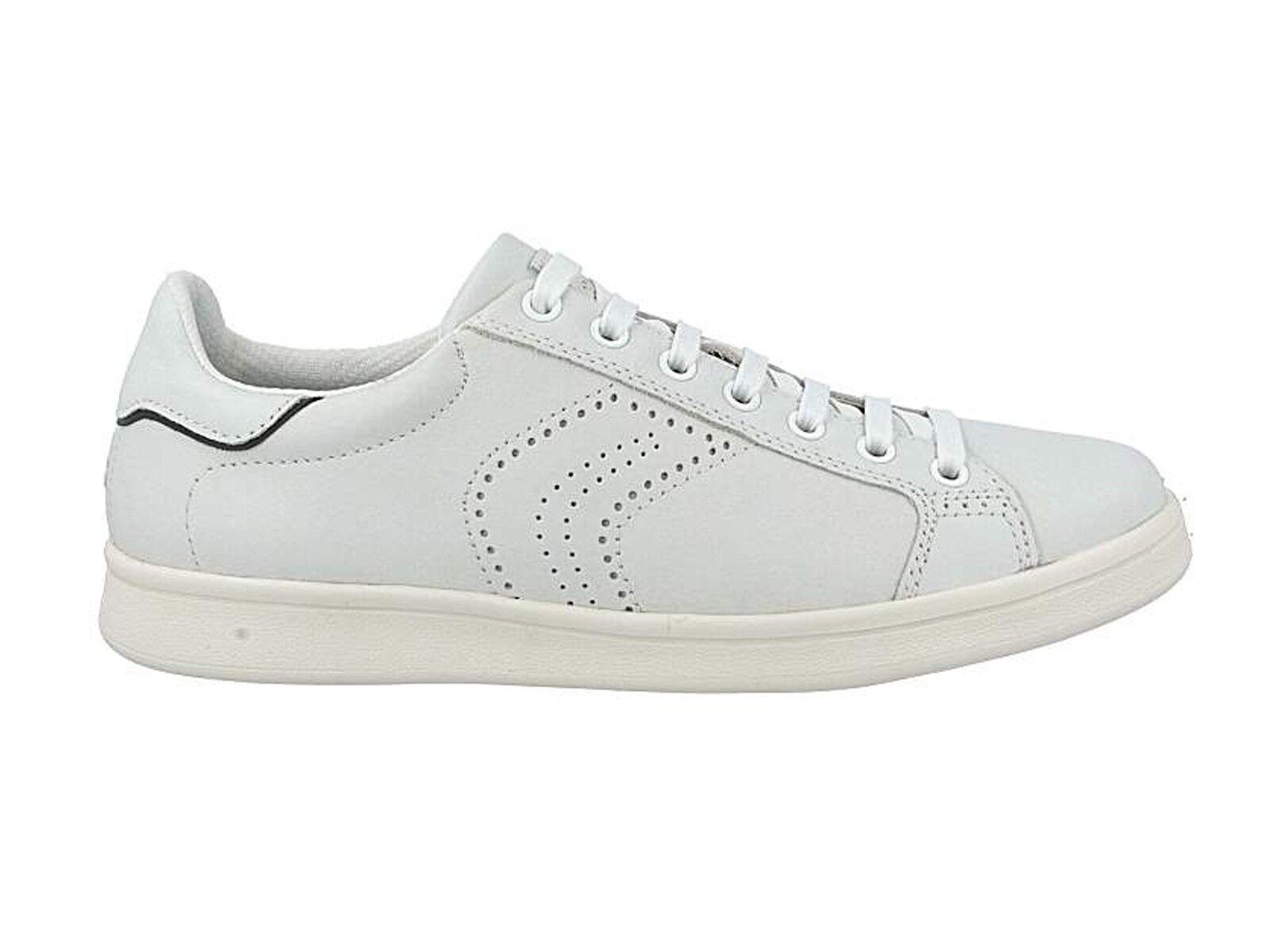 chaussures hommes GEOX ESTATE U620LB 00085 C0006  WARRENS blanc bleu