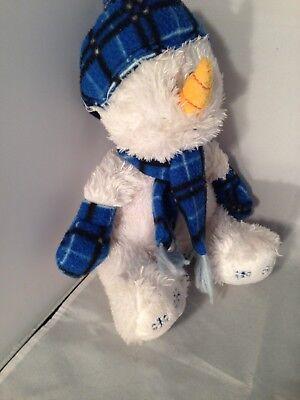 100% Vero Posh Paws Ghiaccino Il Pupazzo Di Neve Giocattolo Morbido Blue Hat/sciarpa 23 Cm-mostra Il Titolo Originale