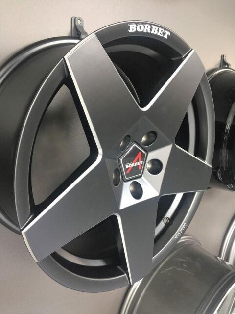 4x alufelgen borbet a seat leon 5f 19 zoll felgen | ebay