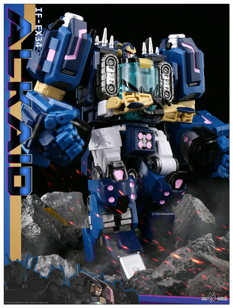 Pre-order Transformers Iron Factory IF EX-34 Spirits of The  D.E.C -Alkaid