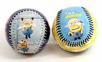 Set Of 2 - Universal Studios Despicable Me Minion Mayhem Baseballs