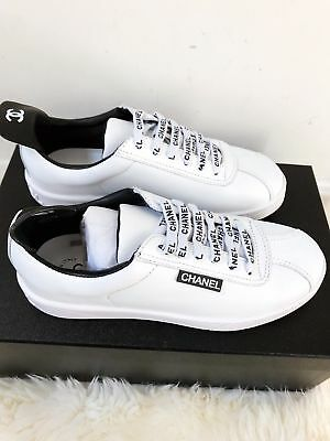 NIB CHANEL White Leather SOLD OUT Lace