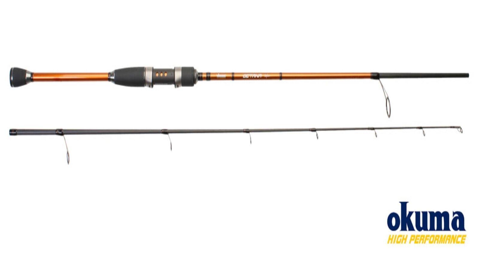 Okuma Octana rossoatorio 36t Carbonio Canna da Pesca 1.95m  2.10m Peso di Lancio