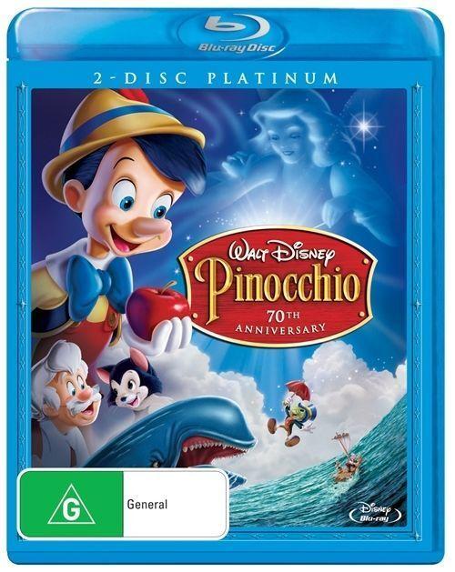 Pinocchio Blu-Ray : NEW