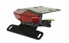Kawasaki KLX250 D-Tracker-X 2008 + DRC MOTO LED EDGE2 Tail Light Holder Aluminum