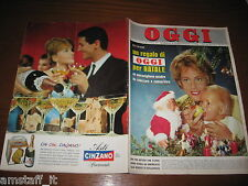 RIVISTA OGGI 1962/52=OLIVER MARIA SCHELL=MAC RONAY=RAYMOND KOPA=LINDA BEMENT=