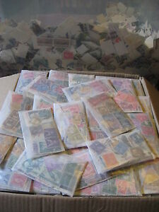 Vintage-Used-US-Postage-Stamps-In-Glassine-Envelopes-Buy-4-Lots-Get-1-Bonus