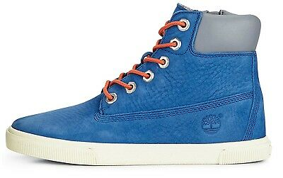 TIMBERLAND garçons Earthkeepers 6IN Chaussures Montantes Bottes ROYAL Bleu | eBay