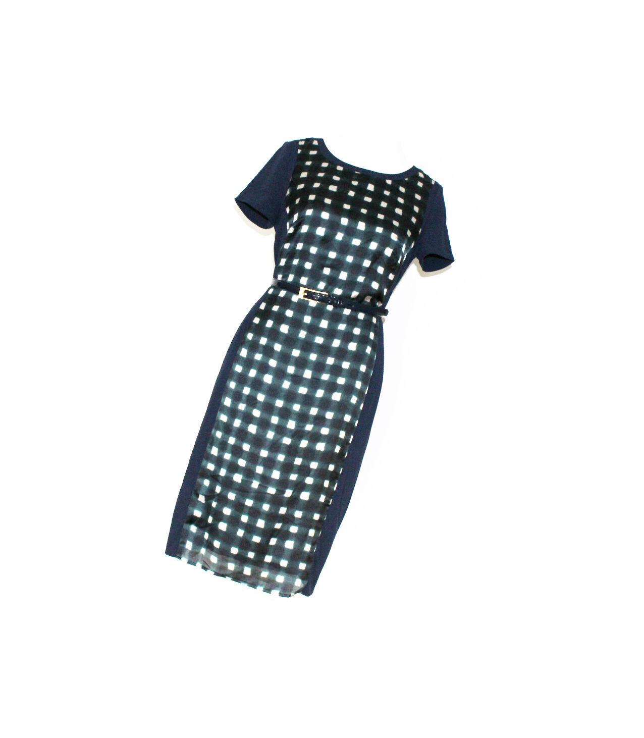 Esprit Abendkleid Kleid Cocktailkleid Etuikleid mit Gürtel Gr. 40   L NEU
