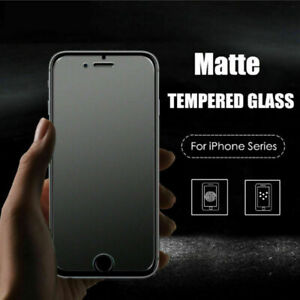 Tempered-Glass-Matte-Anti-Glare-Screen-Protector-For-iPhone-11-Pro-XS-Max-XR-X-8