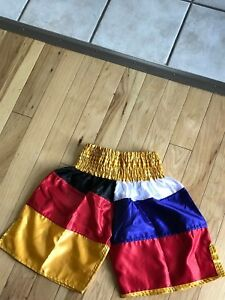 Athletic Training Puerto Rico Flag Boxing Fitness MMA Grappling Sports Shorts