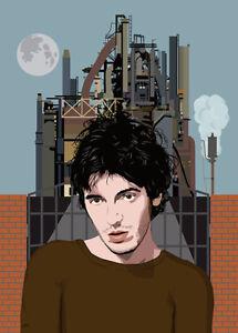 Bruce Springsteen - Factory - Original (signed) art print - Jarod Art