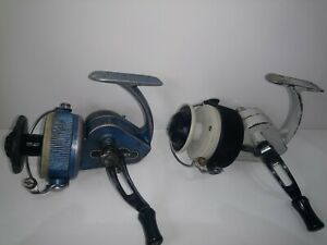 VINTAGE-ALLCOCKS-DELMATIC-MK2-amp-JW-YOUNGS-THE-AMBIDEX-SPINNING-COARSE-REELS