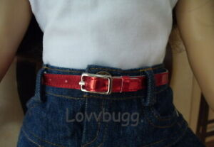 Red Belt for American Girl 18 inch Baby 15 Doll Clothes LOVV LOWEST TOTAL!