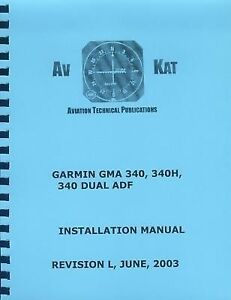 GARMIN 340  AUDIO PANEL  INSTALLATION MANUAL