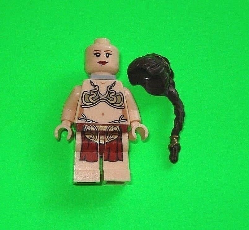 LEGO STAR WARS FIGUR FIGUR FIGUR PRINZESSIN LEIA SKLAVIN AUS SET 75020    =TOP    e0c926