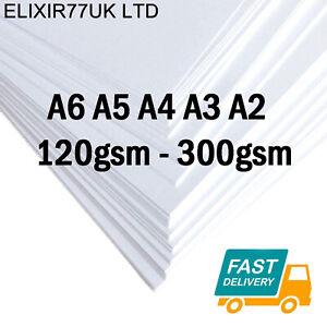 A6-A5-A4-A3-A2-WHITE-CRAFT-DECOUPAGE-CARD-MAKING-STOCK-PAPER-PRINTER-120-300gsm