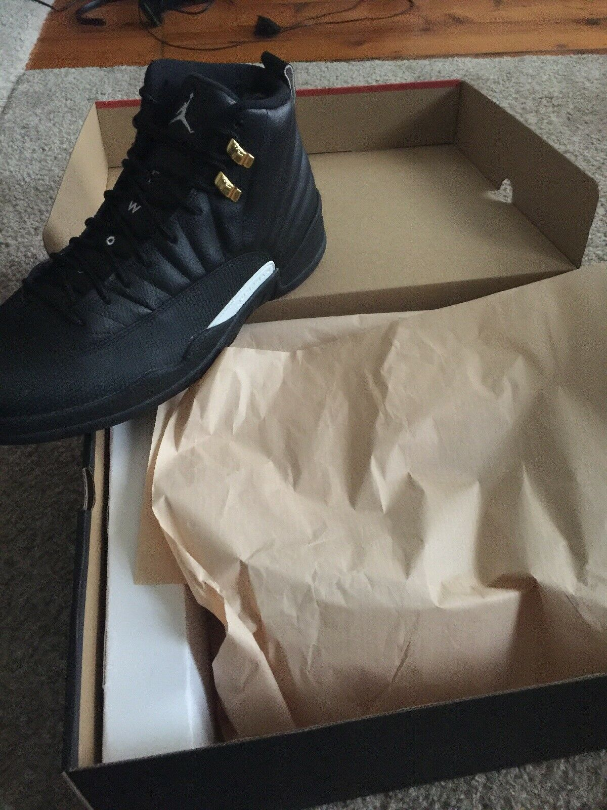 Jordan Retro 12  The Master  Size 11.5- New In Box-Never Worn w Receipt