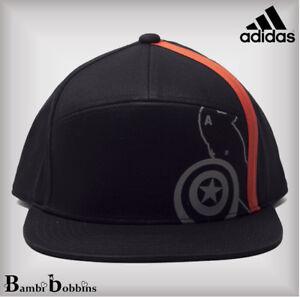 a18a0ec9ba5 Adidas Marvel UPF 50+ Black Baseball Cap Boys 6-7-8-9-10-11-12-13-14 ...