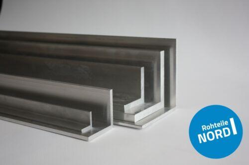 Aluminium Winkel 30 x 30 x 3 mm gleichschenklig AlMgSi0,5 Alu Profil Modellbau