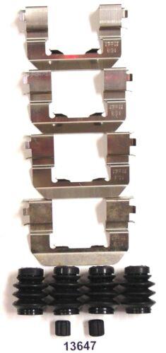 Better Brake Parts 13647 Front Disc Brake Hardware Kit