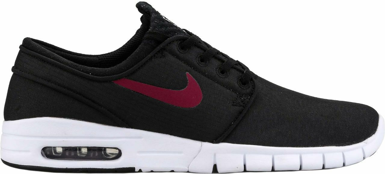 Nike STEFAN JANOSKI MAX Black Team Red White Sneakers Discount (580) Men's Shoes