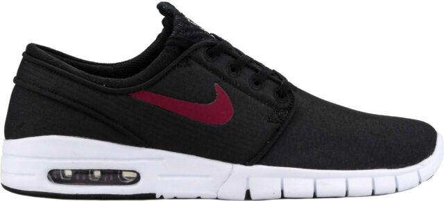 Size 9 - Nike Zoom Stefan Janoski SB Max Black - 631303-060