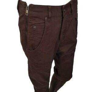 DIESEL-Fayza-Q-Brown-Pants-Trousers-Size-W27-RRP-160-00