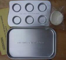 New/Genuine Hasbro Easy Bake Ultimate Oven~CUPCAKE & RECTANGULAR CAKE PANS