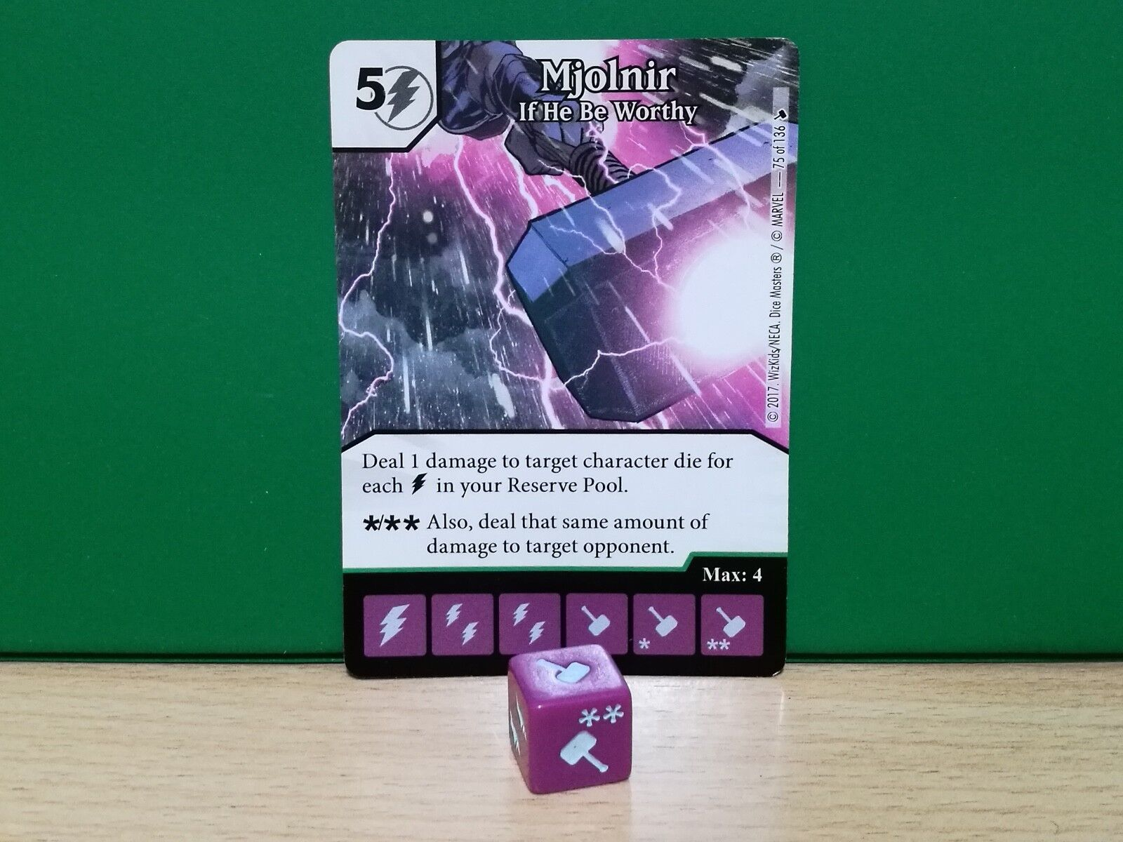 Dice Masters Masters Masters The Mighty Thor - 075 Mjolnir 3e507b