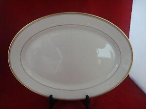 Syracuse China Old Ivory Monticello Platter 14 Gold Trim Ebay