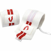Valeo Red Line Wrist Wraps One Pair 18 Length Heavy Duty Weight Lifting