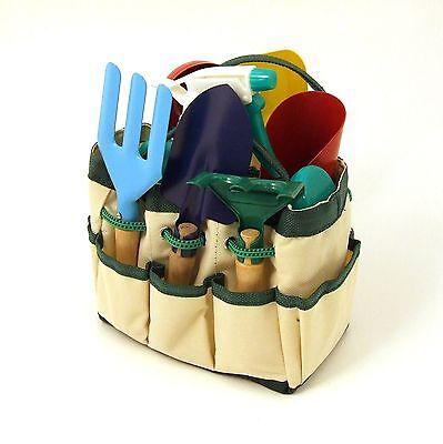 Mini GARDENING TOOLS SET . . . gift present indoor outdoor kit box plant trimmer