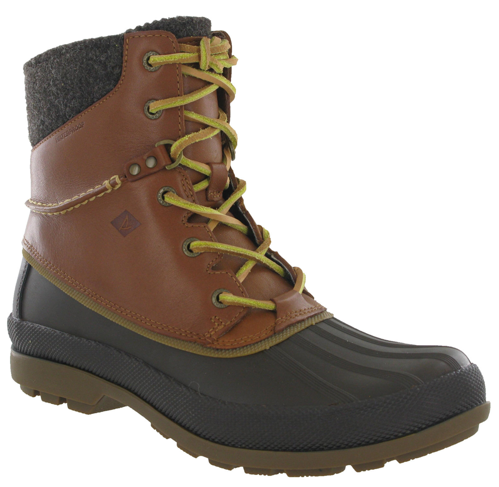 Sperry Cold Bay Ice Winter Duck Leder Stiefel Walking Hiking Waterproof Leder Duck Ankle b2f2b4